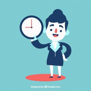 mulher-de-negocios-pontual_23-2147621172