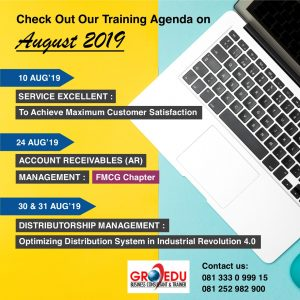 Agenda Training August 2019