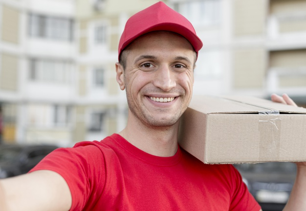 smiley-delivery-guy-taking-selfie_23-2148546018