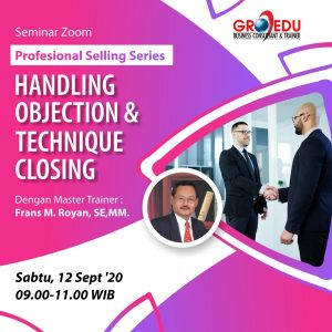 Handling objection & technique closing Merah